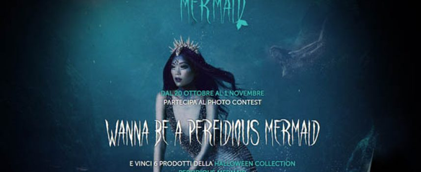 Perfidious Mermaid: vinci la Halloween Collection di Wycon Cosmetics
