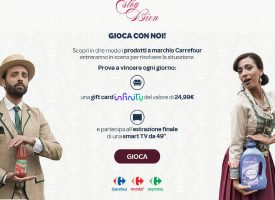 Vinci gratis card Infinity e Smart TV con Carrefour