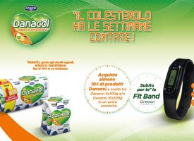 Danacol e Carrefour ti regalano la Fitband Oregon Scientific