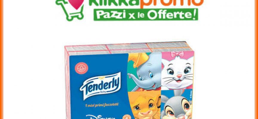 Klikkapromo: scarica i nuovi coupon Tenderly Baby