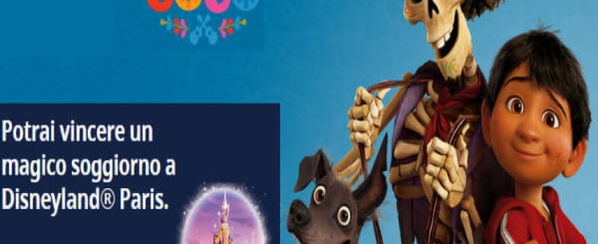 Guarda il nuovo film Coco e vola a Disneyland Paris