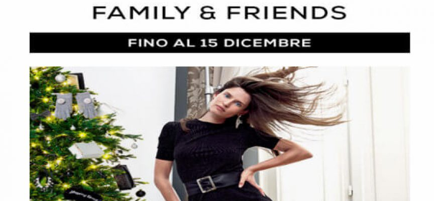 OVS Family & Friends, risparmia fino al 30%