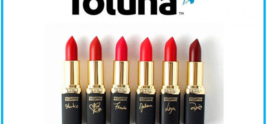 Prova gratis L'Oréal Paris Collection Exclusive Lipstick con Toluna