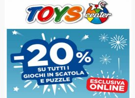 Sconti di Natale online da Toys Center