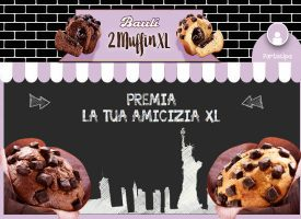 Scopri il gusto di Muffin Xl Bauli e vola a New York