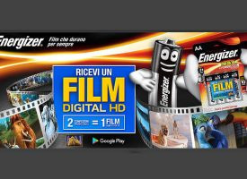 Energizer ti regala un film in Digital HD