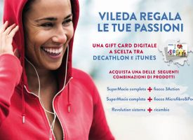 Vileda ti regala una gift card Decathlon o iTunes
