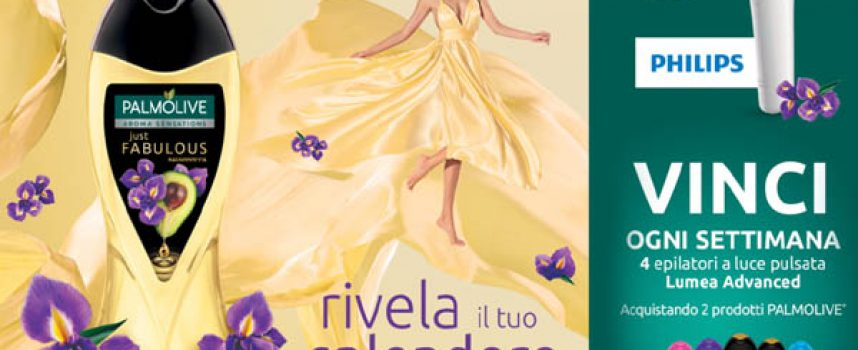 Rivela il tuo splendore con Palmolive e vinci l'epilatore Lumea Advanced