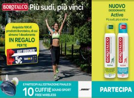 Borotalco ti regala un voucher TicketOne