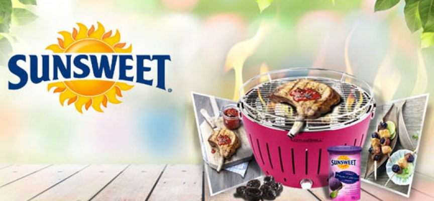 Gioca con Sunsweet e vinci un barbecue Lotus Grill