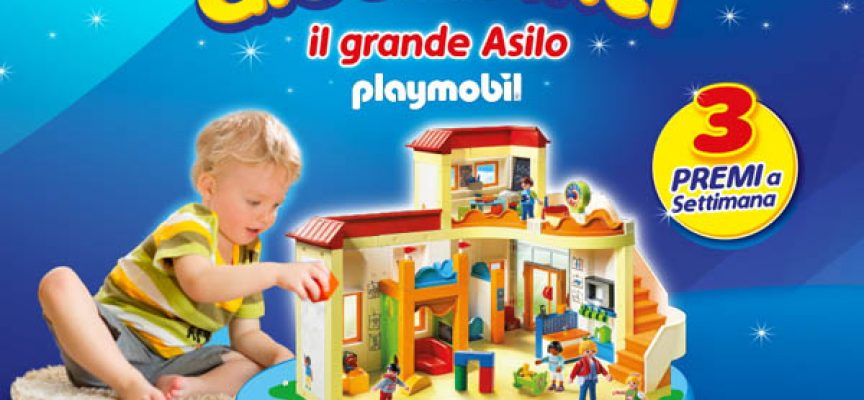 Con Pampers Baby Dry vinci il Grande Asilo Playmobil