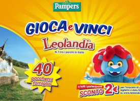 Gioca con Pampers e vinci un weekend a Leolandia