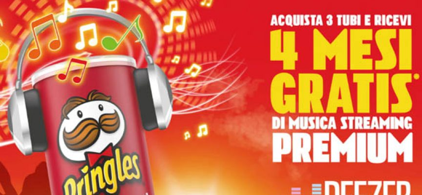 Pringles ti regala 4 mesi di musica in streaming