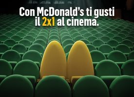 McDonald's ti regala un buono cinema 2×1