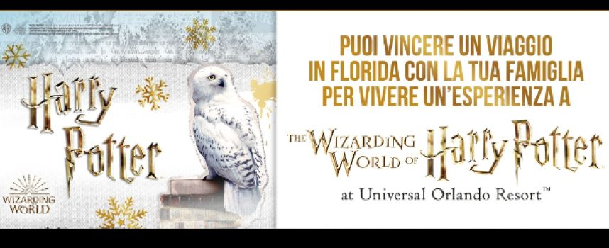 Gioca con Mondadori e vinci un'esperienza a The Wizarding World of Harry Potter