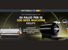 Acquista Optigrill di Rowenta e vinci una Beer Machine Krups