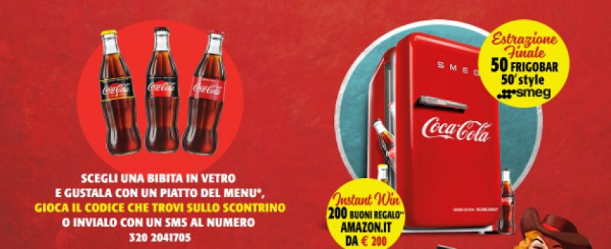 Con Coca-Cola e Old Wild West in palio 200 buoni regalo Amazon da 200 euro