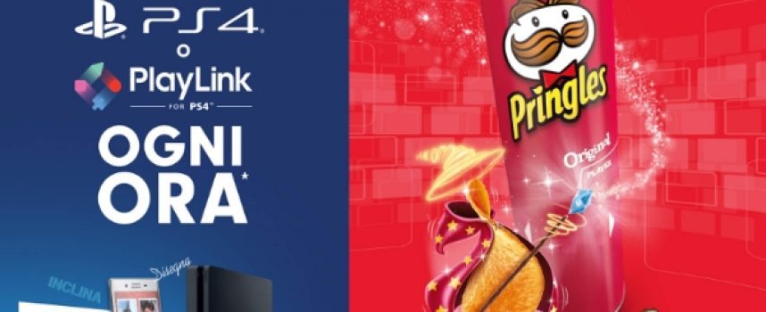 Pringles Gaming: vinci un premio PS4 o PlayLink PS4 ogni ora