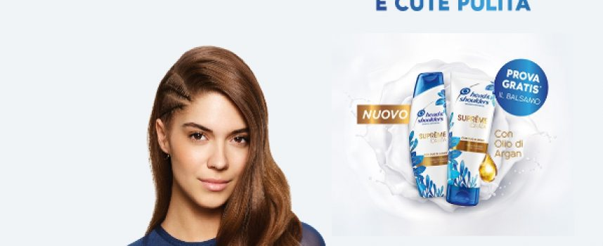 Prova gratis il nuovo balsamo Head & Shoulders
