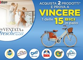 Gioca con SC Johnson e Conad e vinci una fantastica City Bike
