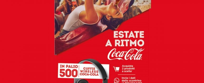 Estate a ritmo Coca-Cola: in palio 500 cuffie wireless