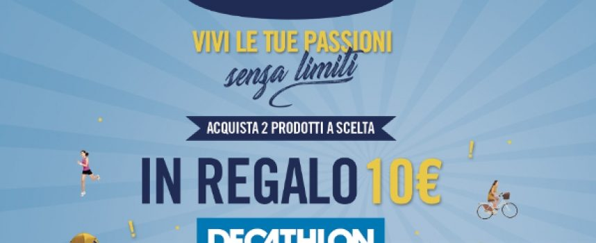 Salvelox ti regala una gift card Decathlon da 10 euro