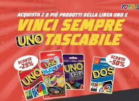 Toys Center ti regala UNO tascabile