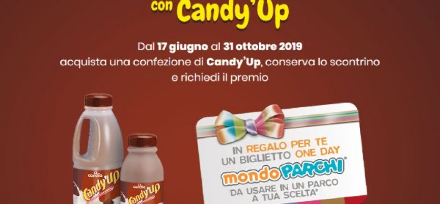Candy'up ti regala un voucher Mondoparchi!