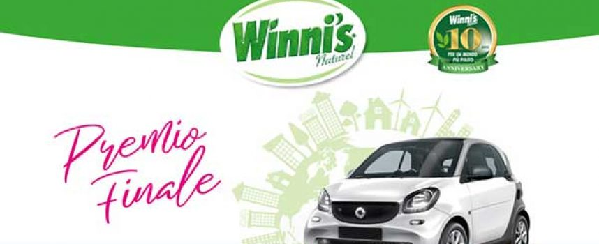 Winni's Guida Pulito: in palio 1000 Winni's giftbox e 1 smart elettrica