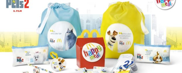 Super Happy Meal: Mc Donald's ti regala il kit scuola di Pets