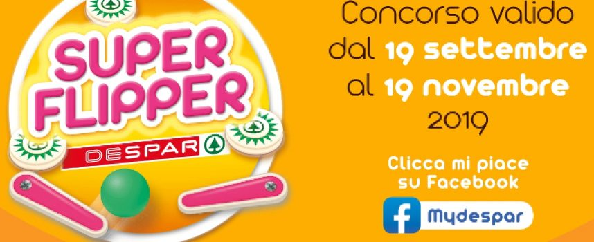 Super Flipper Despar: in palio oltre 40.000 premi