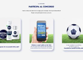Nivea Men ti regala un pallone da calcetto