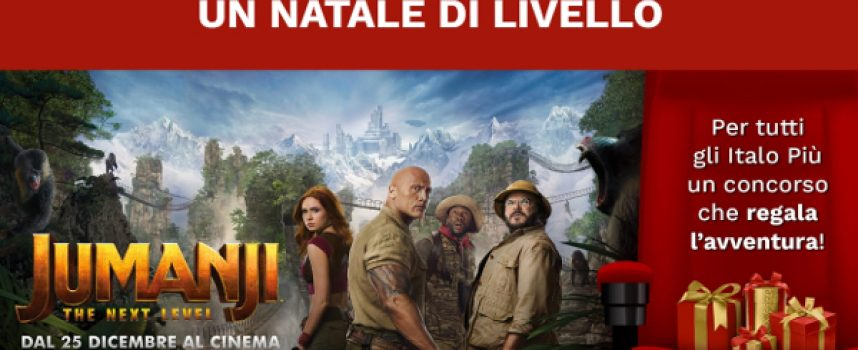 Con Italo Più e Jumanji vinci un weekend al Jungle Adventure Park
