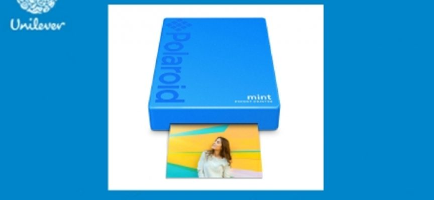 Acquista i prodotti Unilever e vinci una Polaroid Mint Printer