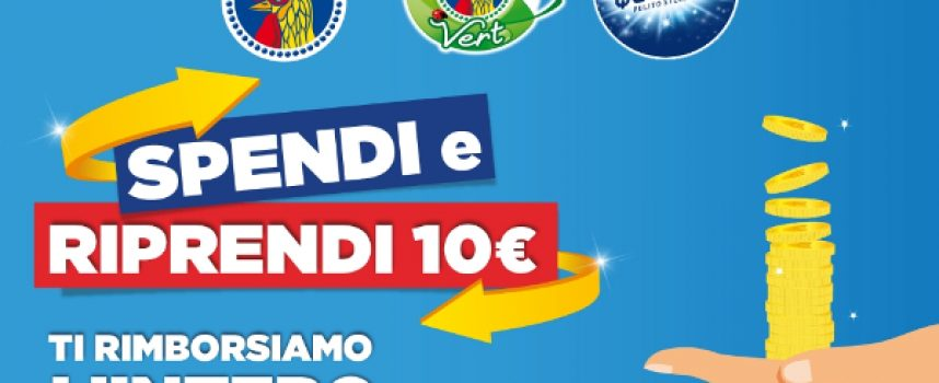 Chanteclair, Chanteclair Vert e Quasar: spendi e riprendi 10 euro