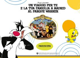 Vinci un weekend al parco Warner Bros di Madrid con Chicco Looney Tunes