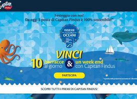 Vinci una borraccia in edizione speciale e un weekend con Capitan Findus