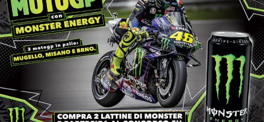 Vivi l'esperienza del Moto GP con Monster Energy