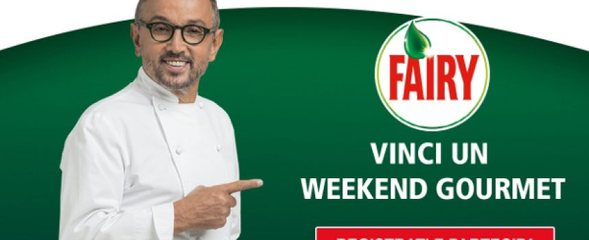 Acquista i prodotti Fairy e vinci un weekend gourmet