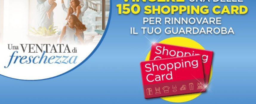 Acquista due prodotti SC Johnson e vinci una shopping card H&M