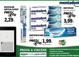 Sorridi con Mentadent: in palio 250 Amazon Kindle Paperwhite