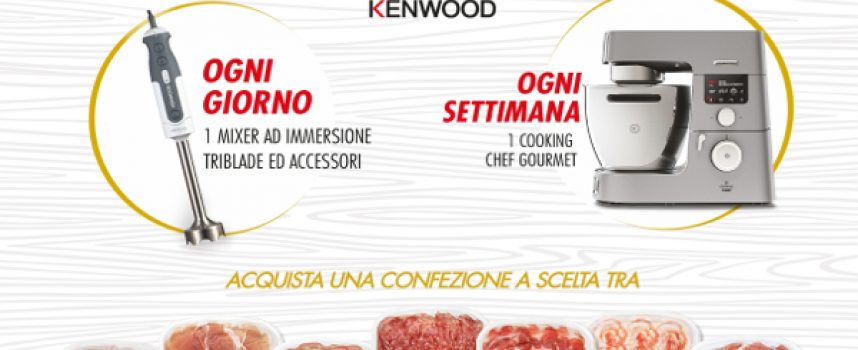 Negroni ti regala Kenwood: ogni settimana in palio un Cooking Chef Gourmet